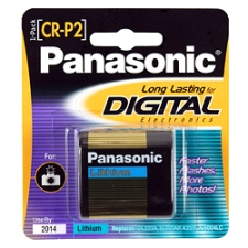 Panasonic Camera Battery CR-P2PA/1B
