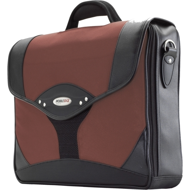 Mobile Edge Select Briefcase - Dr. Pepper Red MEBCS7