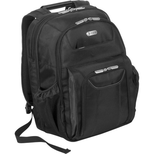 Targus Zip-Thru Corporate Traveler Notebook Backpack TBB012US