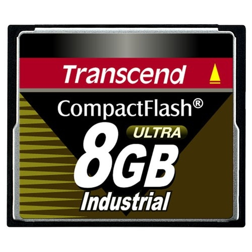 Transcend 8GB Ultra Speed Industrial CompactFlash (CF) Card TS8GCF100I