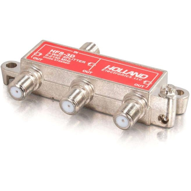 C2G 3-Way High-Frequency Splitter 41021