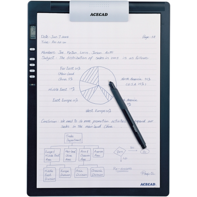 Solidtek Acecad DigiMemo Digital Notepad DM-L2