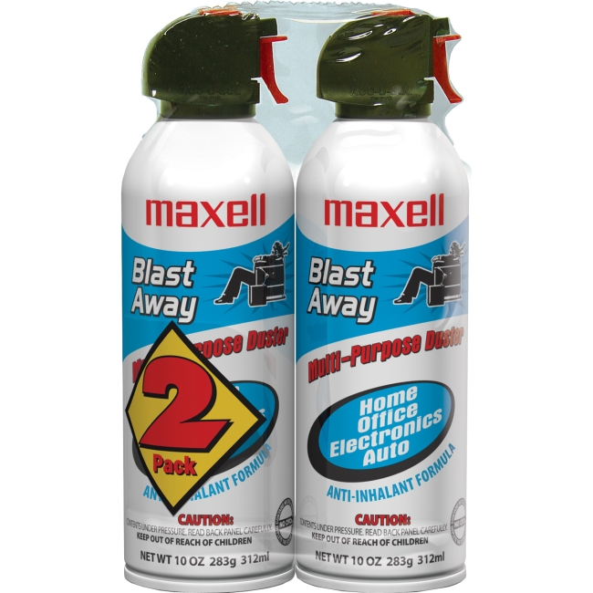 Maxell Blast Away Canned Air Duster 190026 CA-4
