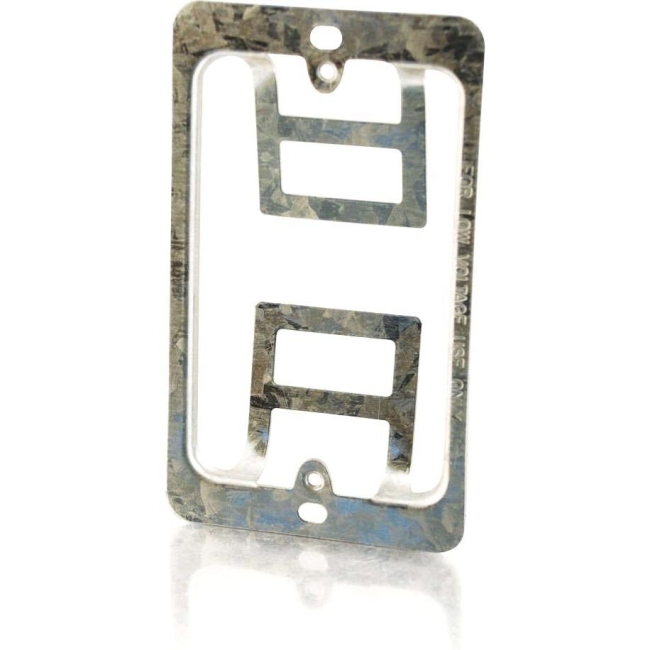 C2G Single Gang Wall Plate Mounting Bracket 03784