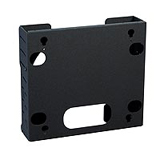 Chief Flat Panel Tilt Wall Mount with CPU Storage PWCU PWC-U