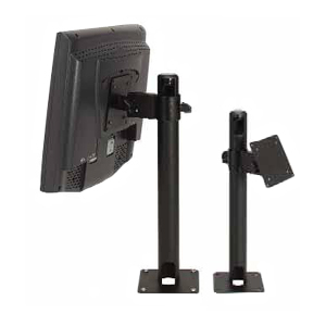 "MMF POS 17"" Base Display Pole With 4"" Arm 225-76110-04"