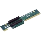 Supermicro 2 PCI Express x8 Slot Riser Card Left Side RSC-R1UU-2E8