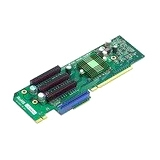 Supermicro 1 UIO & 3 PCI Express x8 Slot Riser Card Left Side RSC-R2UU-UA3E8