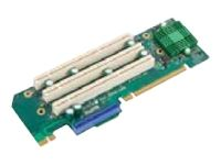 Supermicro 1 UIO & 3 PCI-X Slot Riser Card Left Side RSC-R2UU-UAX