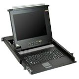 "Aten 17"" 16-port LCD KVM for SMB CL1016M"