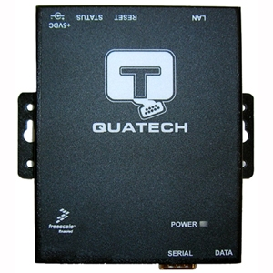 QUATECH 1 Port RS-232 Serial Device Server (DB9 Male) with Surge Suppression SSE-100D-SS