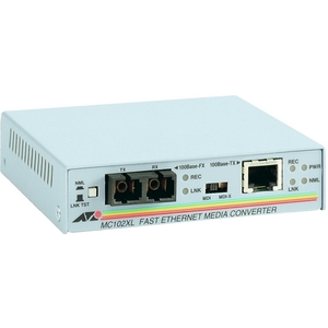 Allied Telesis Fast Ethernet Media Converter AT-MC102XL-90