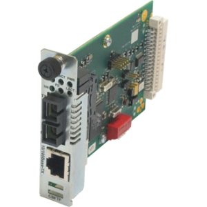 Transition Networks 10/100 Bridging 10/100Base-TX to 100Base-FX Media Converter CBFTF1011-105