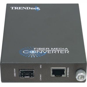 Fiber Gigabit Ethernet on Gigabit Ethernet To Fiber Media Converter Trendnet Tfc 1000mgb