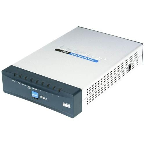 Cisco 4-port Fast Ethernet VPN Router-Dual WAN RV042