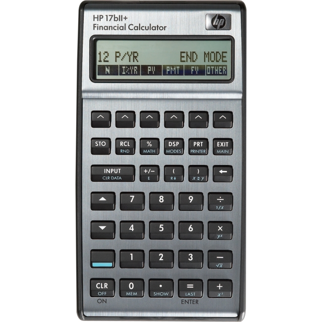 HP 17bII+ Financial Calculator F2234A#ABA 17BII+