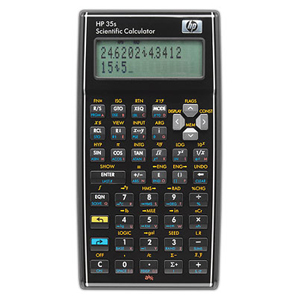 HP 35S Scientific Calculator F2215AA#ABA 35s