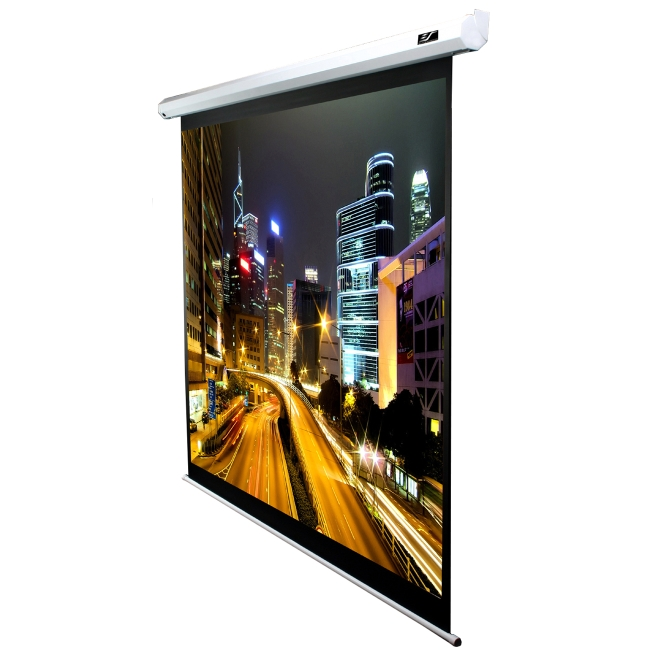 Spectrum electric projection screen elite screens inc for 100 inch motorized projector screen