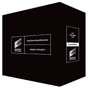 Sony Pictures Sound Effects Series Volumes Six through Ten ssds2000