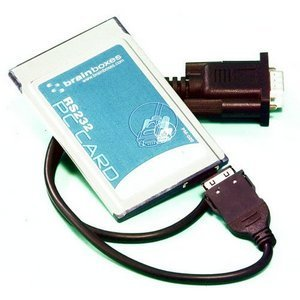 Brainboxes 1 Port RS-232 Serial PCMCIA Card PM-020-001