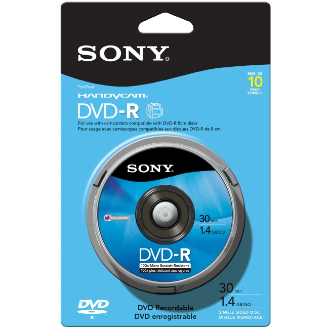 Sony DVD-R Media 10DMR30RS1H