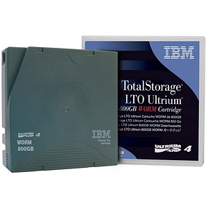 IBM LTO Ultrium 4 WORM Tape Cartridge 95P4450