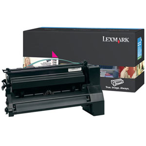 Lexmark Magenta Toner Cartridge C780A2MG