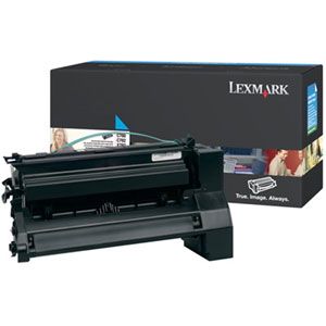 Lexmark High Yield Cyan Toner Cartiridge C780H2CG