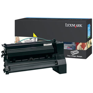 Lexmark High Yield Yellow Toner Cartiridge C780H2YG