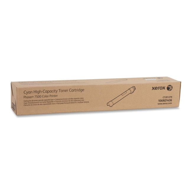 Xerox Cyan Toner Cartridge 106R01436