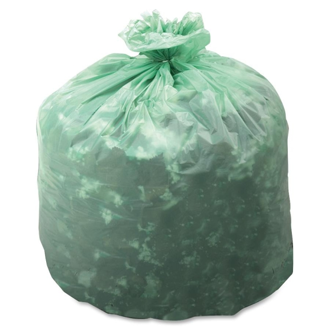 STOUT industrial and commercial grade Products Biodegradable & Compostable Trash Bag E2430E85 STOE2430E85
