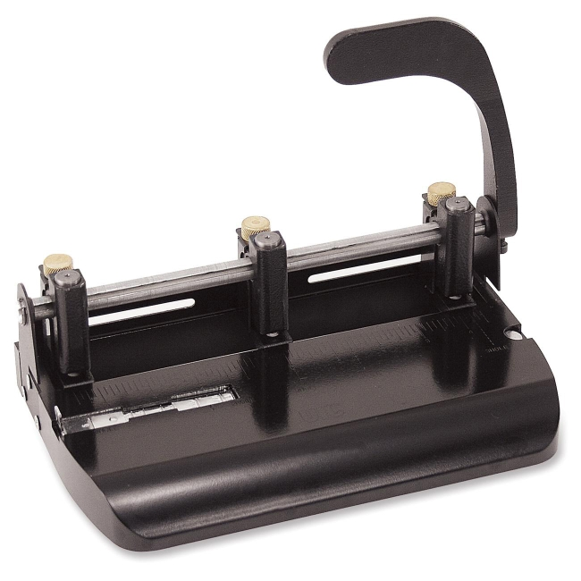 OIC Heavy-Duty Adjustable Three-Hole Punch 90078 OIC90078