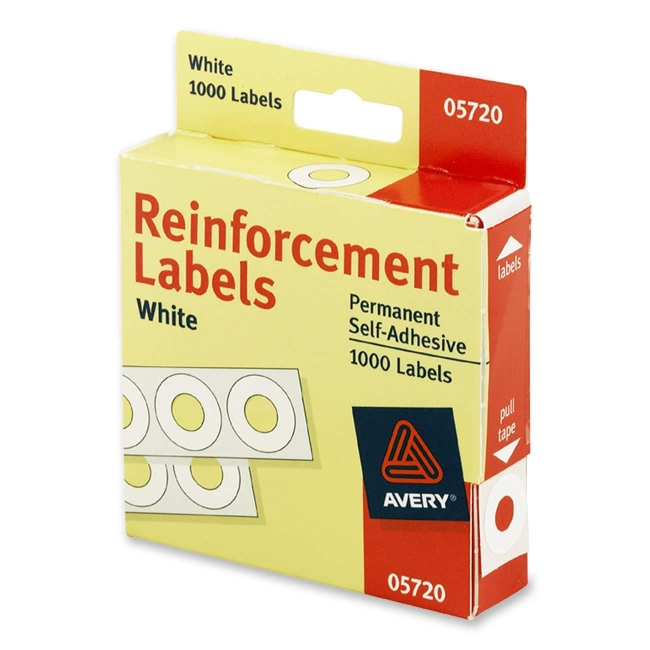 Avery Reinforcement Label 05720 AVE05720