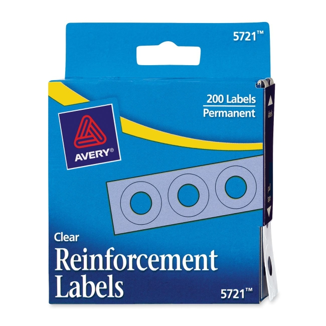 Avery Reinforcement Labels 05721 AVE05721