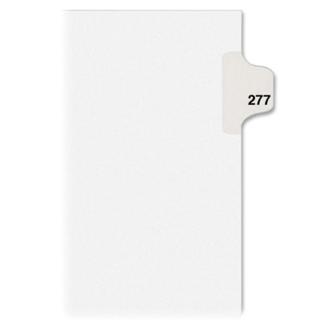 Avery Individual Side Tab Legal Exhibit Dividers 82493 AVE82493