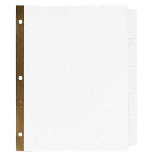 Avery Big Tab Write-On Divider with Erasable Laminated Tab 23075 AVE23075
