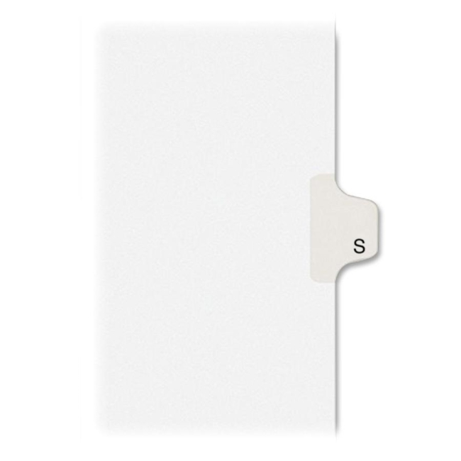 Avery Individual Legal Tab Divider 82181 AVE82181