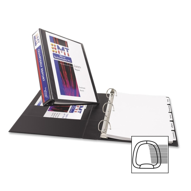 Avery Durable Reference View Ring Binder 17021 AVE17021