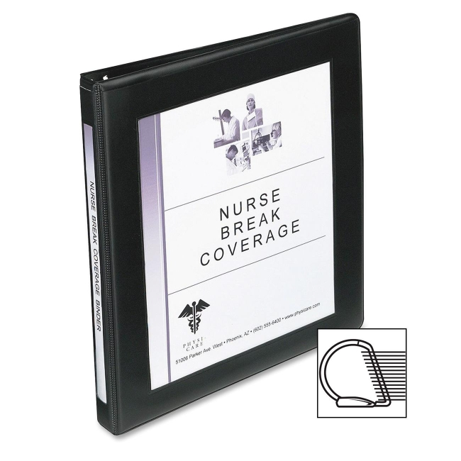 Avery D-Ring Frame View Binder 68050 AVE68050