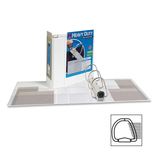 Avery Heavy-Duty Reference View Binder 79106 AVE79106