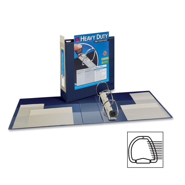 Avery EZD Non-Stick View Binder 79803 AVE79803