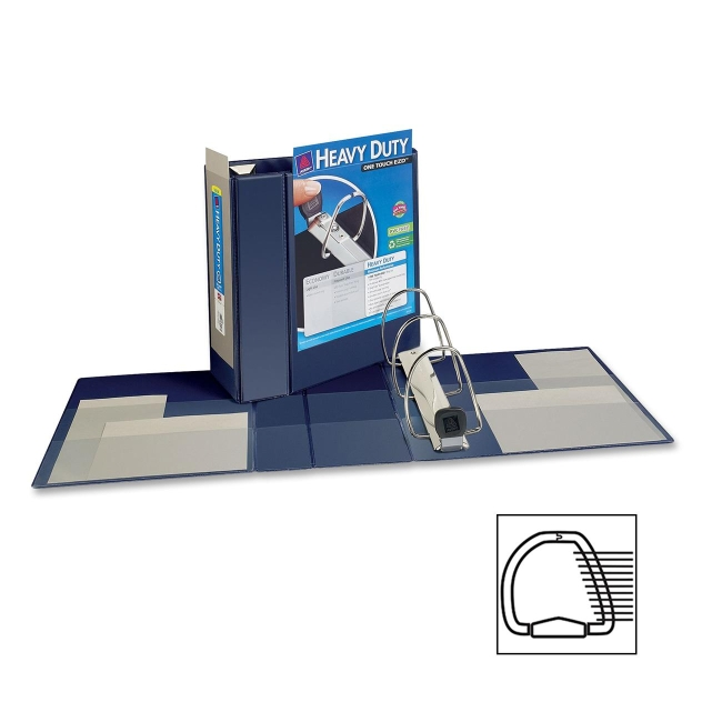 Avery EZD Non-Stick View Binder 79806 AVE79806