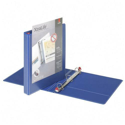 Globe-Weis Xtralife Clearvue Locking Slant-D Binder 26302 CRD26302