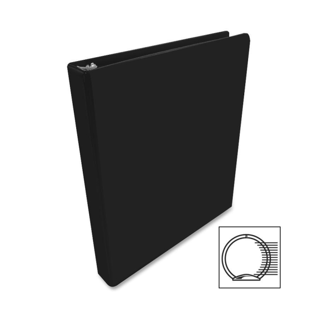 ACCO Round Ring View Binder 36213B WLJ36213B