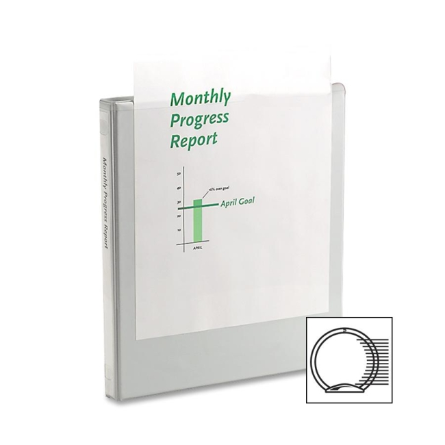 ACCO Round Ring View Binder 36213W WLJ36213W