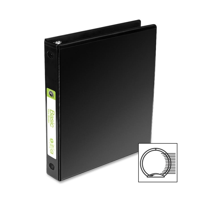ACCO Round Ring View Binder 36234B WLJ36234B