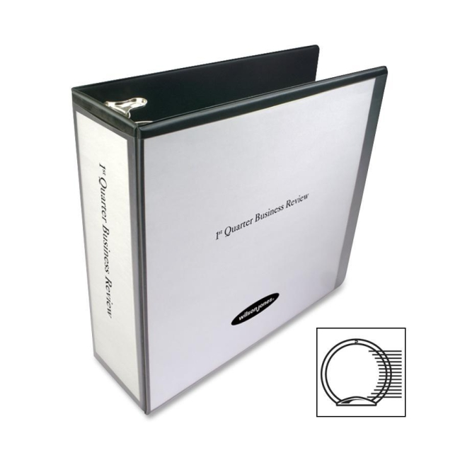ACCO Round Ring View Binder 36249B WLJ36249B
