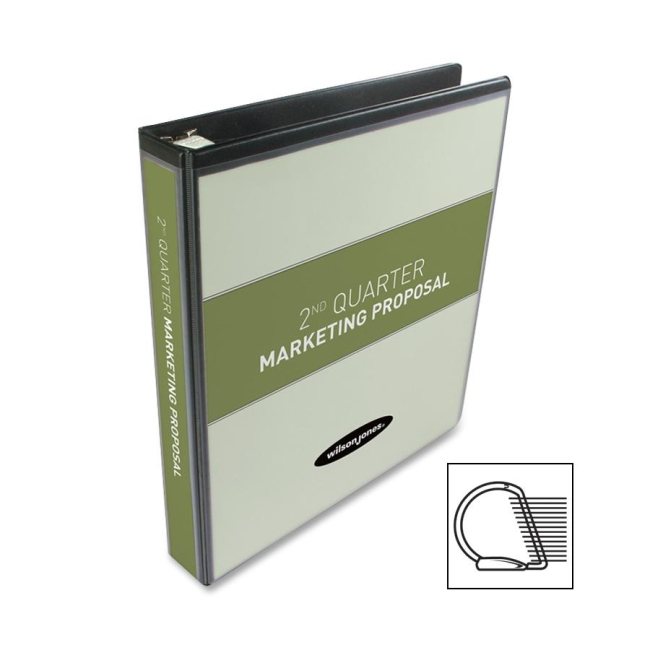 ACCO DublLock D-ring View Binder 38514B WLJ38514B