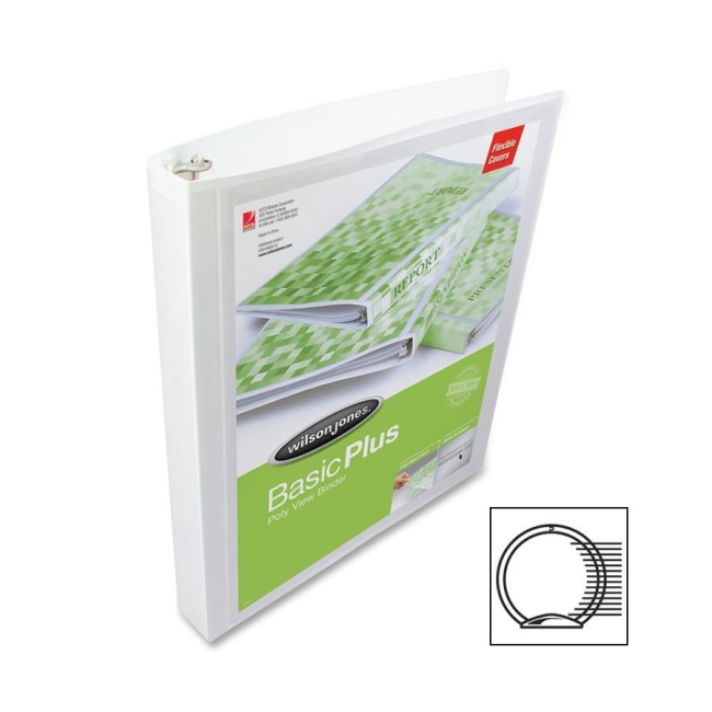 ACCO Flexible Poly Ring Binder 43333 WLJ43333