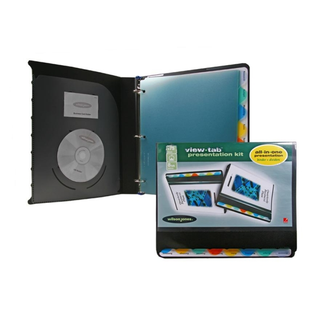 ACCO View-Tab Presentation Binder 55095 WLJ55095